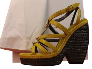 Balenciaga MUSTARD YELLOW Sandals