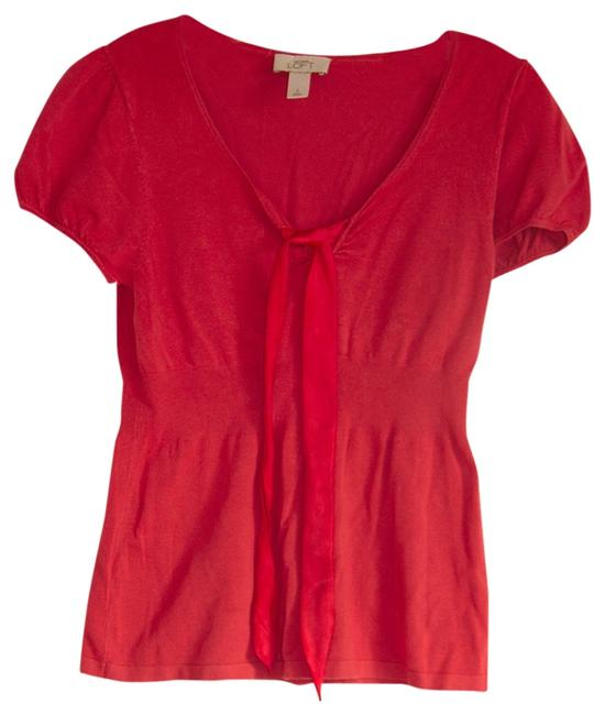 Preload https://item3.tradesy.com/images/ann-taylor-loft-red-blouse-size-4-s-680737-0-0.jpg?width=400&height=650