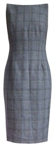Marc Jacobs Plaid Classic Executive Knee Length Dress