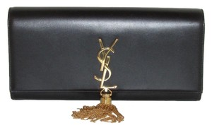 Saint Laurent Cassandre Black Clutch