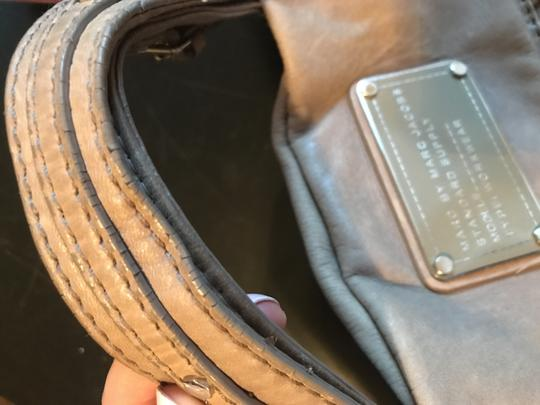 Marc by Marc Jacobs Gray Messenger Bag