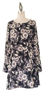 Free People short dress Blue Floral on Tradesy