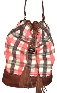 Juicy Couture Plaid Summer Hobo Bag