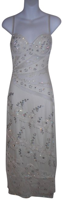 Preload https://item3.tradesy.com/images/creamoff-white-hand-painted-sheer-panels-evening-long-formal-dress-size-10-m-681017-0-1.jpg?width=400&height=650