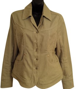 Luv a Little green and cream Womens Jean Jacket