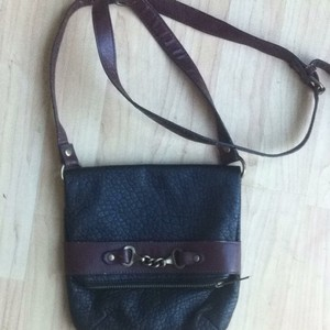 Free People Faux Leather Cross Body Bag