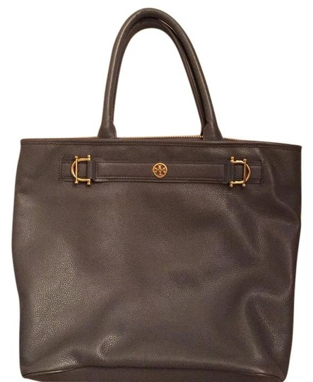 Preload https://img-static.tradesy.com/item/6812683/tory-burch-gray-leather-tote-0-3-540-540.jpg