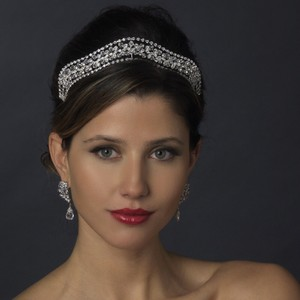 Unique Swarovski Crystal & Rhinestone Wedding Bridal Tiara