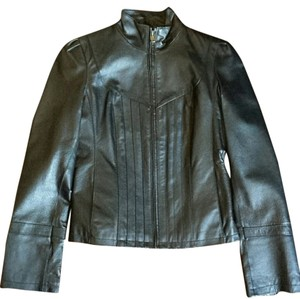 Guess Motorcycle Leather Jacket