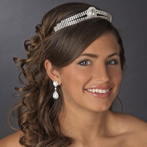 Rhinestone Royalty Wedding Bridal Tiara