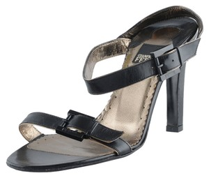 Gianfranco Ferre Black Sandals