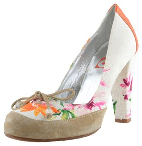 Gianfranco Ferre GF Multi-Color Pumps