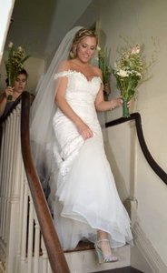 Cathedral Length Veil With Blusher