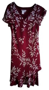 Coldwater Creek short dress Red on Tradesy