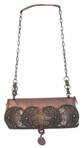 Mary Frances Pinkish Purpleish Clutch