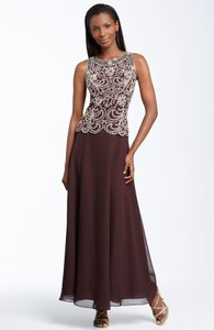 Other Chiffon J Kara Bridesmaid/Mob Dress Size 12 (L)