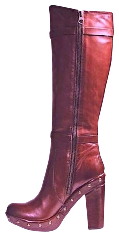 Kork-Ease Bailey Rust Bailey Kork-Ease Knee High Studded Boots/Booties eb7c1a
