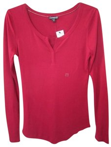 Express Cotton Modal Burgundy Sweater