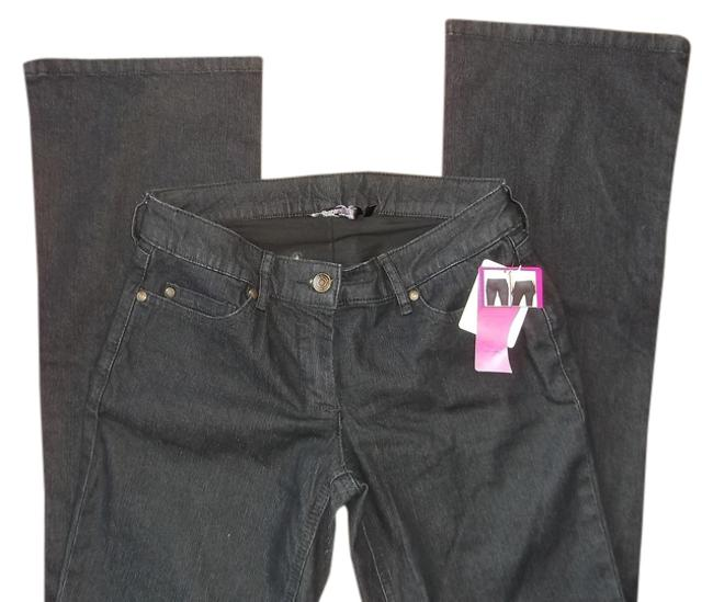 Shapesational Boot Cut Jeans-Dark Rinse