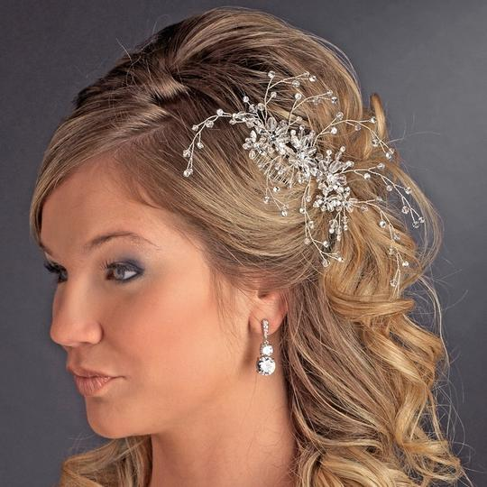 Preload https://item1.tradesy.com/images/silver-sweet-vine-swarovski-crystal-ab-rhinestone-flower-comb-hair-accessory-682065-0-0.jpg?width=440&height=440