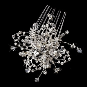 Fabulous Swarovski Crystal And Stone Wedding Bridal Comb