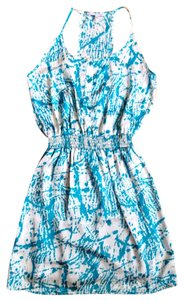 Collective Concepts short dress Blue Summer on Tradesy