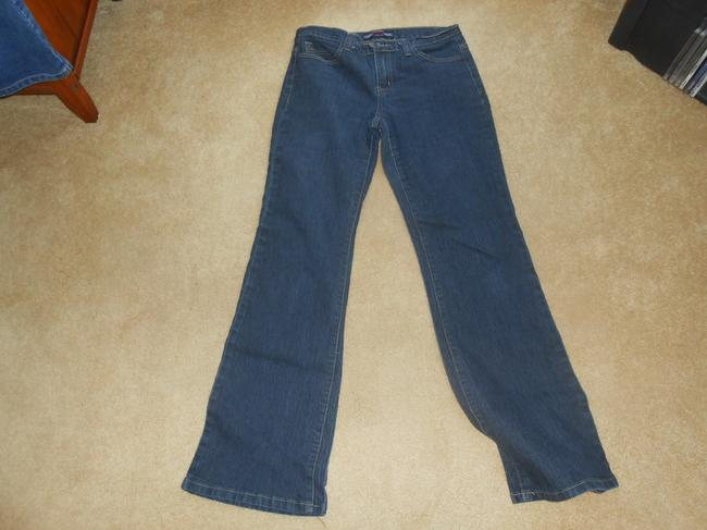 Last in First Out Boot Cut Jeans-Dark Rinse