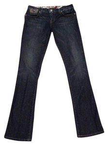 Guess Sexy Straight Leg Jeans-Dark Rinse
