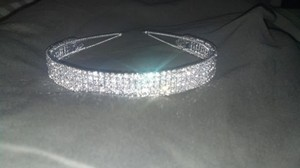 5 Row Diamante Tiara