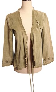 Karen Kane Leather GREEN Jacket