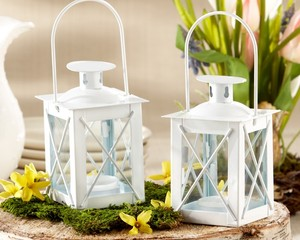 Kate Aspen White 100 Luminous Mini Lanterns Beach Or Nautical Wedding Favors