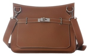 Hermès Jypsiere 34 Clemence Leather Cross Body Bag