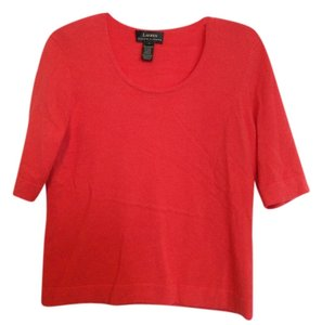 Lauren by Ralph Lauren Cashmere Coral Sweater
