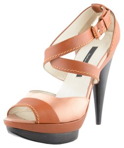 Gianfranco Ferre Brown / Beige Sandals