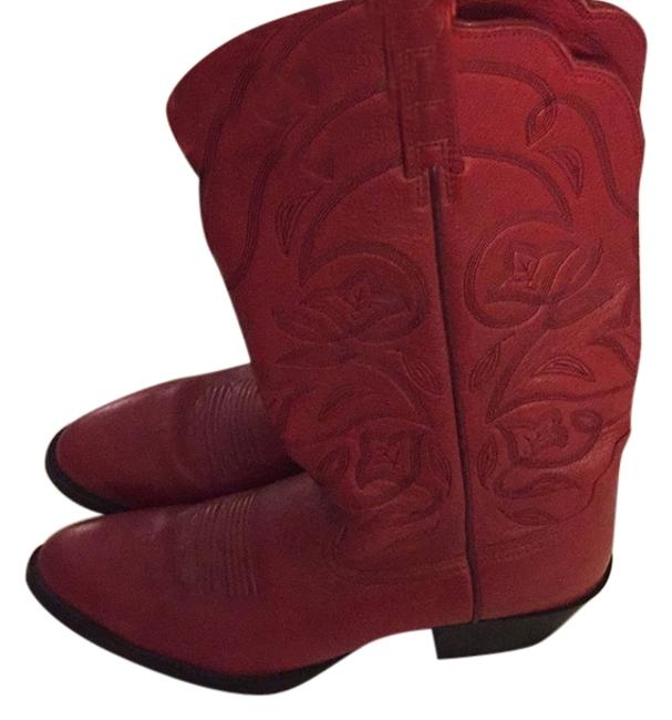 Item - Red Boots/Booties Size US 10 Regular (M, B)