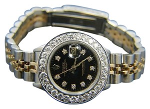 Rolex Ladies Rolex Datejust With Diamond Bezel with Rolex Box & Appraisal
