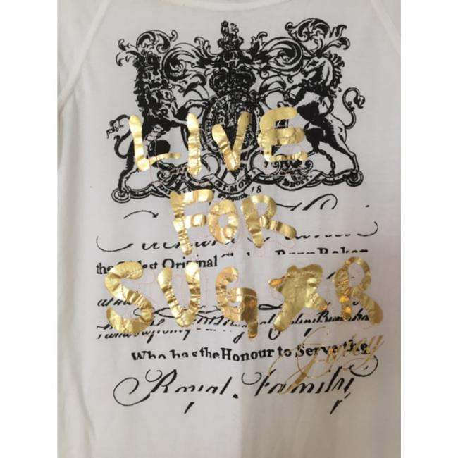 Juicy Couture T Shirt White, black, gold Image 1