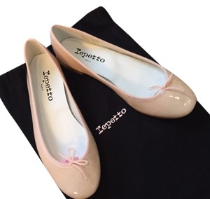 Repetto Beige Nude pink Flats