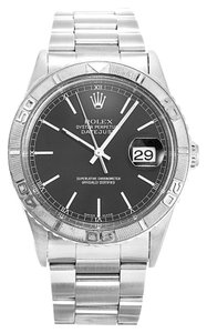Rolex ROLEX DATEJUST TURN-O-GRAPH 16264 STAINLESS STEEL MEN'S WATCH