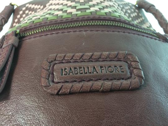 Isabella Fiore Tahoe Weave Distressed Convertible Cross Body Bag Image 5