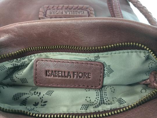 Isabella Fiore Tahoe Weave Distressed Convertible Cross Body Bag Image 7