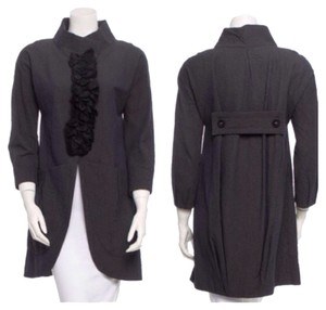 Vera Wang Gray black Jacket