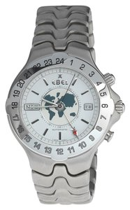 Ebel Ebel Men's Sportwave Meridian GMT Stainless Steel Automatic Watch. ebel 9122641