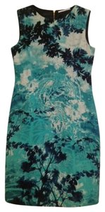 Elie Tahari Asian Inspired Sheath Dress