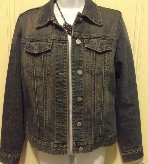 Gap Denim blue Womens Jean Jacket Image 1