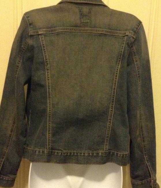 Gap Denim blue Womens Jean Jacket Image 2