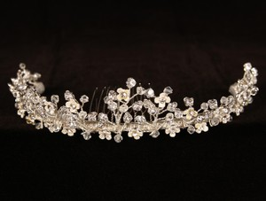 Your Dream Dress Exclusive R3-4742 Silver Tiara Bridal Headpiece