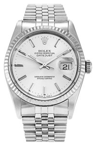 Rolex ROLEX DATEJUST STAINLESS STEEL MEN'S WATCH