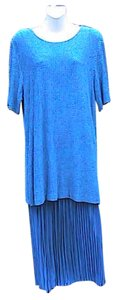 Blue Maxi Dress by Sharade 2 Pc Or Office Attire