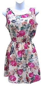 Topshineworld short dress Floral Chiffon Mini on Tradesy
